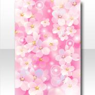 (Wallpaper Profile) Cherry Blossoms Dream Wallpaper ver.A pink