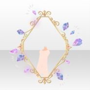 (Back Accessories) Jewelry Princess Morganite Frame ver.A purple