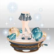 (Pant Skirt) Bijoux Gear Vignette ver.A blue