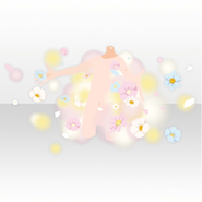(Outerwear) Natural Flower Colorful Shower ver.A white