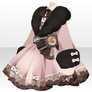 (Tops) Meraviglioso Fur One-Piece ver.A pink