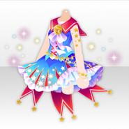 (Tops) U.S. Cheerleader Radiant Star Dress ver.A blue