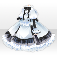 (Tops) White Sister Ribbon One-Piece ver.A white