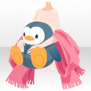 (Outerwear) Penguin Doll and Cape ver.A pink