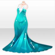 (Tops) Aquarium Mermaid Dress ver.A green
