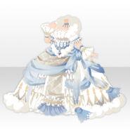 (Tops) Dream Cloud Goddess Bell Line Dress ver.A white