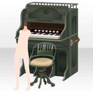(Avatar Decor) Melodious Organ ver.A green