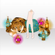 (Avatar Decor) Arabian Night My Tiger Friend ver.A yellow
