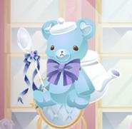 (Characters) Dolls Tea Party - Teddy Bear Flamboise Blue