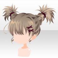 (Hairstyle) Phantom Active Braided Hair ver.A brown