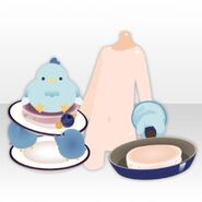 (Hand Accessories) Love Pancake Cooking ver.A blue