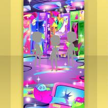 (Show Items) Glittery Zombie Locker Room Stage ver.1