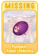 (Characters) Mononoke MARCH - Pumpkin Paper Umbrella
