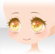 (Face) Beauty Rose Eye Contacting Face ver.A yellow