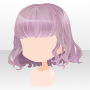 (Hairstyle) Hollow Park Fluffy Short Hair ver.A pink