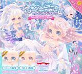 Milky Jewel Mermaid