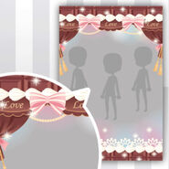 (Show Items) Chocolate Curtain and Cream Decor1 ver.1