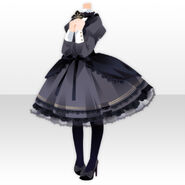(Tops) Priere Maiden Dress ver.A black