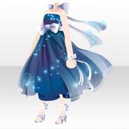 (Tops) Starry Skate Luminous Long Dress ver.A blue