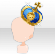 (Head Accessories) Penguin Queen Crown ver.A blue