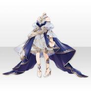 (Tops) Floracion Pleast Servant Cloth ver.A blue