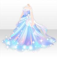 (Tops) Mysterious Aurora Long Dress ver.A blue