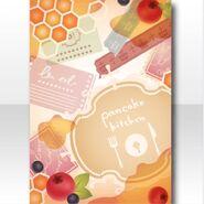 (Wallpaper Profile) Love Pancake Kitchen Wallpaper ver.A orange