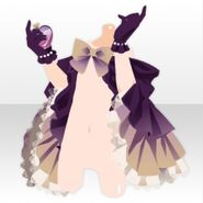 (Hand Accessories) Elegant Perfume and Cape ver.A purple