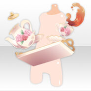 (Hand Accessories) Royal Girl Clumsy Maid Serving Tea ver.A white