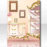 (Wallpaper Profile) Royal Girl Room Wallpaper ver.A white