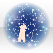 (Avatar Decor) In the Starry Sky ver.A blue