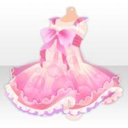 (Tops) Bathtime Bubble One-Piece ver.A pink