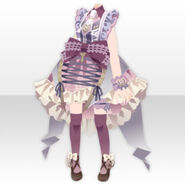 (Tops) Angelic Magical Bow Dress Style ver.A pink