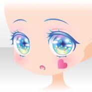 (Face) Rose Wonderland Big Eyes Face ver.A blue