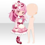 (Body Accessories) With Momo Left ver.C pink