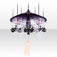 (Body Accessories) Prayer Stained Glass Lamp ver.A purple