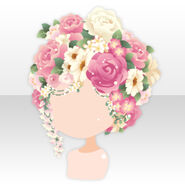 (Hairstyle) Perfume Fairy Flower Garden Hair ver.A pink