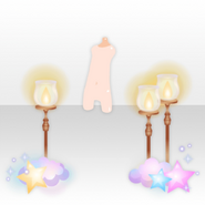 (Avatar Decor) Night Dress Party Stylish Light ver.A orange
