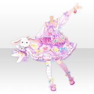 (Tops) CocoPPa Dolls Pop Candy Style ver.A pink