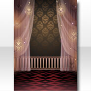 (Wallpaper Profile) Soin Midnight Doll House Wallpaper ver.A pink