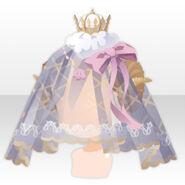 (Head Accessories) Dream Cloud Veil ver.A pink