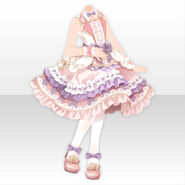 (Tops) Peluche Conductor Dress Style ver.A pink