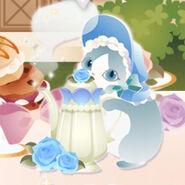 (Characters) Afternoon Tea - Magic Pot Cat Blue