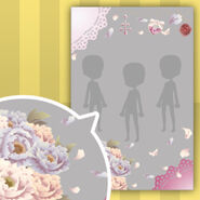(Show Items) Dancing Girl Lace and Bouquet Decor2 Pink ver.1