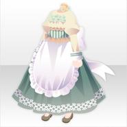 (Tops) Secret Fleur Apron Dress ver.A jade green
