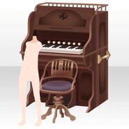 (Avatar Decor) Melodious Organ ver.A brown