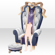 (Body Accessories) Throne for Imperial Princess ver.A white