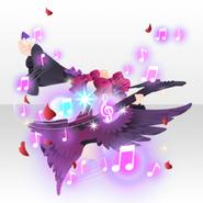 (Outerwear) Gothic Live Devil Guitar Coat ver.A purple
