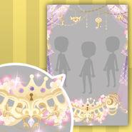 (Show Items) Shining Crown Curtain Decor Purple ver.1