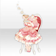 (Tops) Elegant Tea Party Style ver.A pink